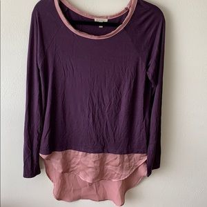 Anthropologie Bordeaux Tee
